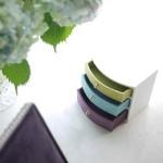 名残の紫陽花(7月後半)と曲面の引出しボックス