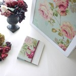 薔薇モチーフの作品-大型収納とファイルカバーなど